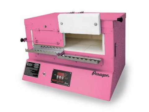 Paragon Blue Bird XL Kiln With A Sentry Xpress Programmer For Bead-Annealing And Fusing Glass.