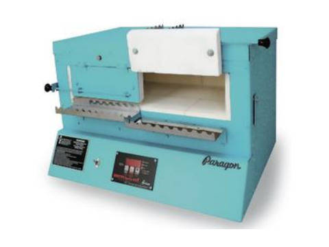 Paragon BlueBird XL Kiln With A Sentry Xpress Controller For Annealing Beads And Fusing Glass.