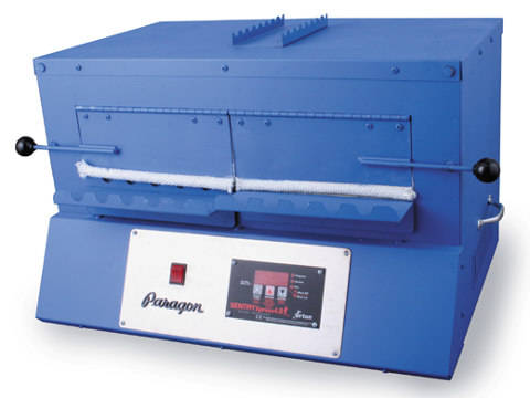 Paragon BlueBird XL Kiln With A Sentry Xpress Programmer For Bead-Annealing And Fusing Glass.