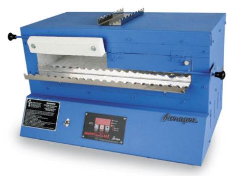Paragon Blue Bird Bead-Annealing Kiln With A Sentry Xpress Programmer.