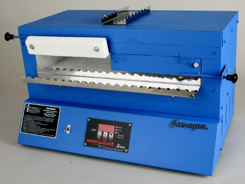 Paragon BlueBird Kiln With A Sentry Xpress Programmer For Bead-Annealing.