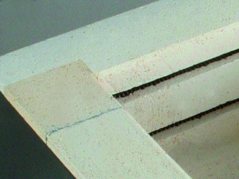 Paragon Firebrick Notched Joint.