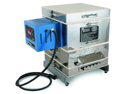 Paragon Caldera-B Bead-Door Kiln With A Sentry Xpress Controller For Bead-Annealing And Glass.