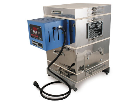 Paragon Caldera-E Enamelling And Glass Kiln With A Sentry Xpress 3-key Programmer.
