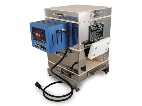Paragon Caldera-E Kiln With A Collar And A Sentry Xpress Controller For Beads, Enamelling, And Metal Clays.