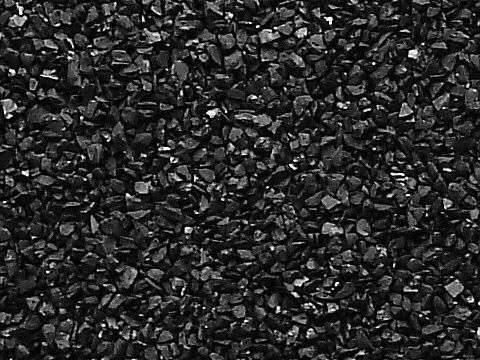 Activated Charcoal Granules.