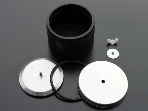Large Rubber Drum 950gm Open