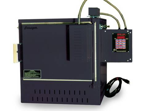 Paragon GL-18ADTSD Glass Kiln With A Sentry Digital Programmer.