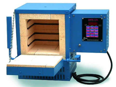 Paragon HT10D Kiln With A Sentry Programmer For Heat Treating.