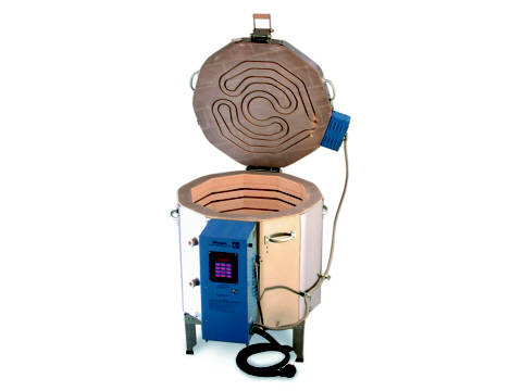 The Paragon Janus 2322 Kiln With A Sentry Programmer For Ceramics, Earthenware, Glass, Porcelain, And Raku.