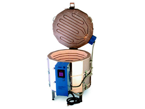 The Paragon Janus 27 2822 Kiln With A Sentry Programmer For Ceramics, Glass, Porcelain, And Raku.