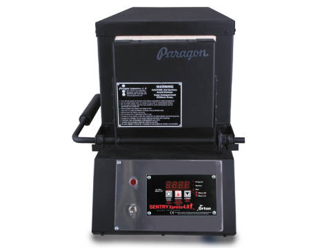 Paragon KM14T Knife Making And Heat-Treating Furnace With A Sentry Xpress Programmer.