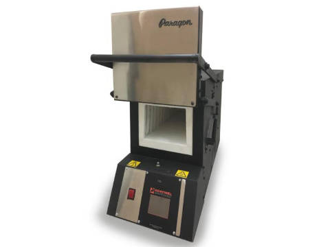 Paragon KM24 PRO 3-Zone Oven With A Guillotine Door And Sentinel Controller For Knife-Making And Heat-Treating.