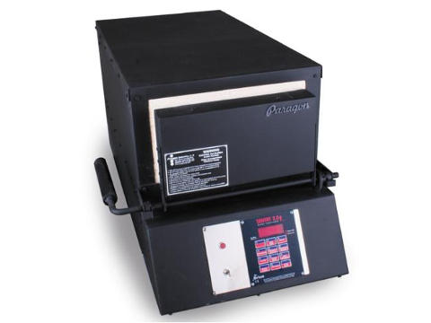 Paragon KM24T Double-Barrel XL Knife-Making Furnace With A Sentry Controller.