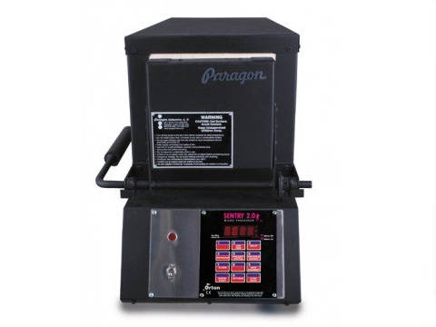 Paragon KM36T Knife-Making Kiln With A Sentry Xpress Programmer.