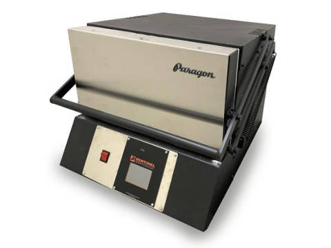 Paragon KM9T Double Barrel XL Pro Knife-Making Furnace With A Sentinel Programmer.