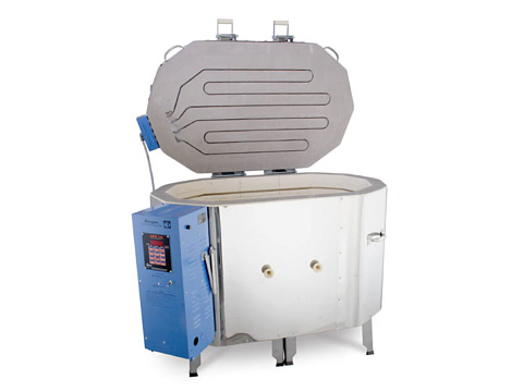 Paragon Janus Ovation Ceramics And Raku Kiln With A Sentry Programmer.