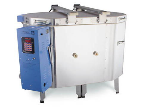 The Paragon Janus Ovation 1022 Kiln With A Sentry Programmer For Ceramics, Glass, Porcelain, And Raku.
