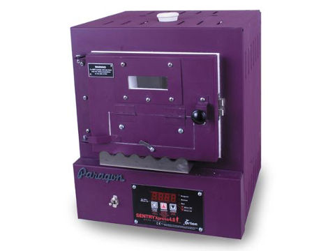 Paragon SC2BW Kiln With A Bead-Door, Window, And Sentry Xpress Programmer For Beads, Enamel, Glass, And PMC.