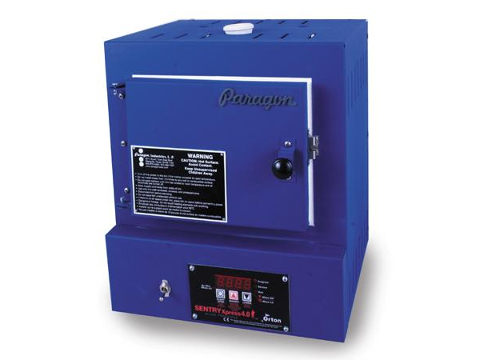Paragon SC2 Navy Kiln For Metal Clay, Enamelling, And Fusing Glass With A Sentry Xpress Programmer.