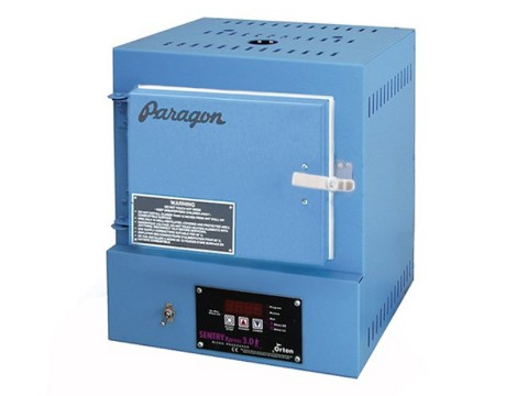 Paragon SC2 Blue Kiln For Silver Clay, Enamels, And Glass Fusing With A Sentry Xpress Programmer.