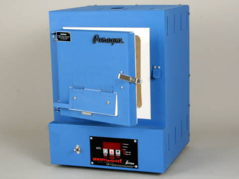 Paragon SC3B Kiln With A Bead Door And Sentry Xpress Programmer For Beads, Enamels, Glass, And Making Jewellery.