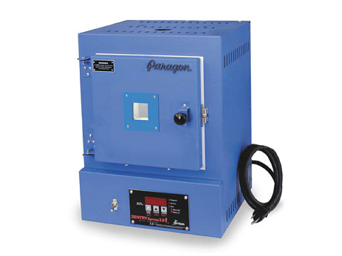Paragon SC3W Kiln With A Window And Sentry Xpress Controller For Enamels, Fusing, Glass, And Jewellery-Making.