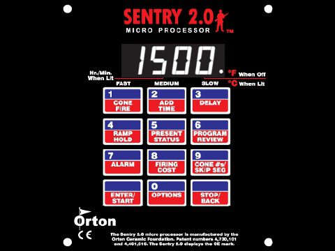 The Paragon-Orton Sentry 12-Key Programmer.
