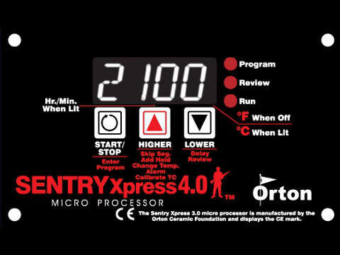 Orton-Paragon Sentry Xpress Digital Programmer.