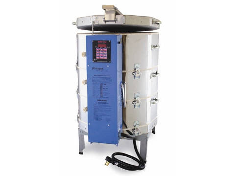 Paragon TNF2329 243 Kiln With A Sentry Programmer For Ceramics, Porcelain, Pottery, Glass And Raku.