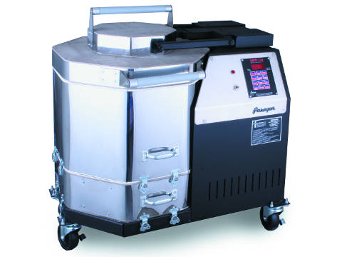 Paragon Vulcan ll Crucible Kiln For Ceramics, Porcelain, Pottery, And Glass Kiln With A Sentry Programmer.