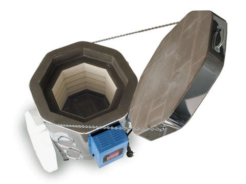 Paragon Vulcan Crucible Kiln For Ceramics, Porcelain, Pottery, And Glass Kiln With A Sentry Programmer.
