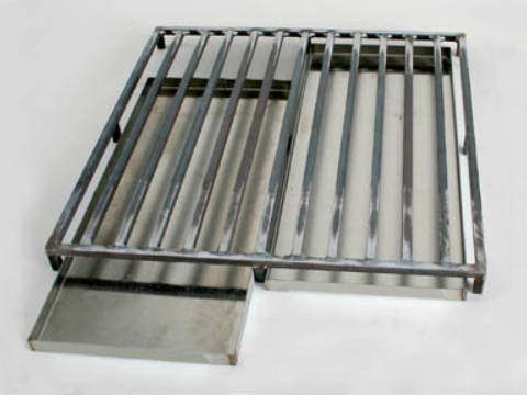 Paragon Lost-Wax Burnout Tray With Grid.