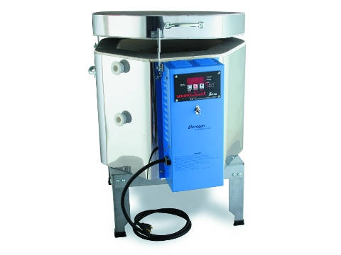Paragon Xpress 1313 Ceramics And Glass Kiln With A Sentry Xpress Programmer.