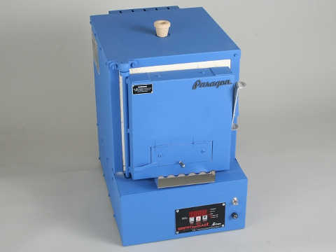 Paragon Xpress E12T Bead And Glass Kiln With A Sentry Xpress Programmer.