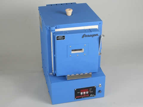 Paragon Xpress E 12W Kiln With A Window And A Sentry Xpress Programmer For Ceramics, Enamelling, And Glass.