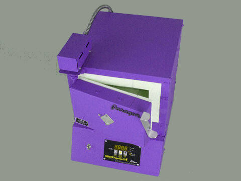 Paragon Xpress E9A Jewellery Kiln With A Sentry Xpress Programmer: Purple.